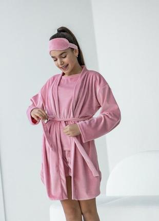 Шикарная пижама 4 детали