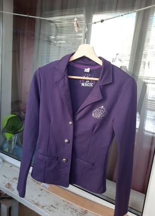 Пиджак для девочки школьный158-164