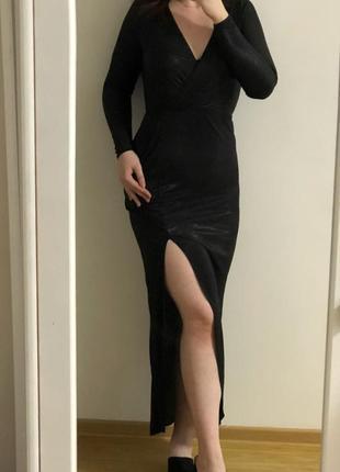 Плаття з розрізом