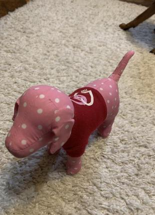 Victoria's secret pink dog 7 коллекционные собачки