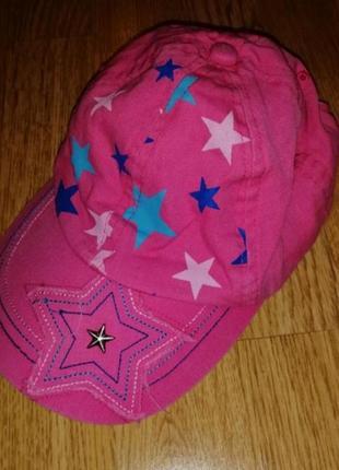 Кепка на девочку бейсболка в звезды