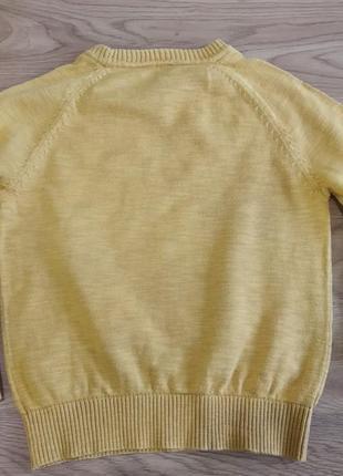 Стильний реглан светр джемпер для хлопчика 3-4 роки next2 фото