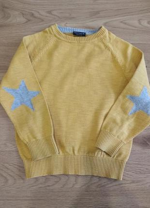 Стильний реглан светр джемпер для хлопчика 3-4 роки next1 фото
