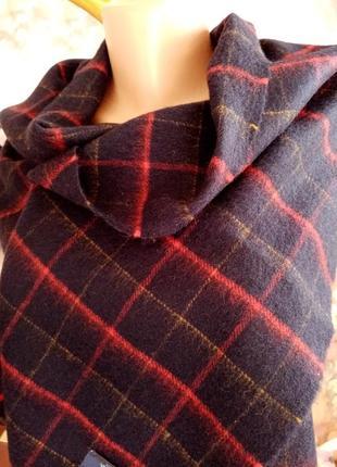 Шотландский кашемировый шарф harrison's.