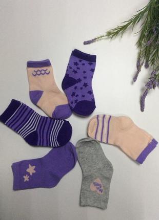 Качественные носки девочке, цена за 1 пару