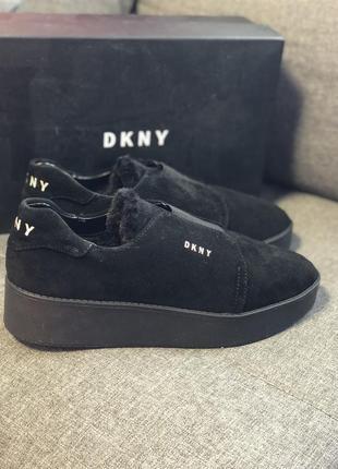 Dkny слипоны кроссовки туфли