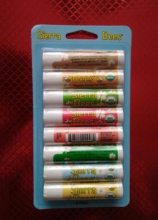 Набір органічних бальзамів для губ sierra bees