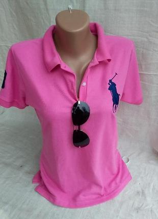 Polo футболка-поло с вышитым логотипом