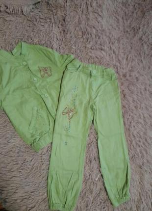 Літній набір ( брюки та піджак(