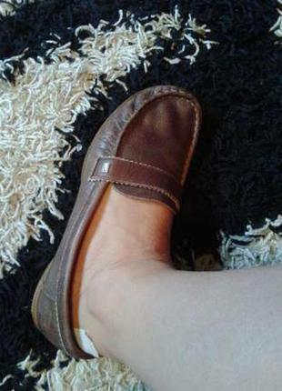 Кожаные кожа брендовые балетки лоферы мокасины