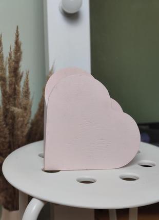 Падорочная коробка сердце, на день валентина, 8 марта, на подарок