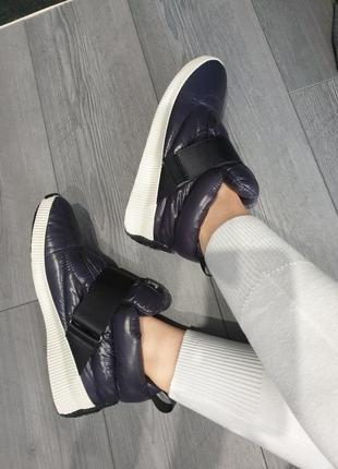 Зимние очень теплые термо сапоги ботинки кроссовки угги пуфферы sorel