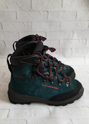 Трекінгові жіночі кросівки salomon super mountain трекинговые ботинки