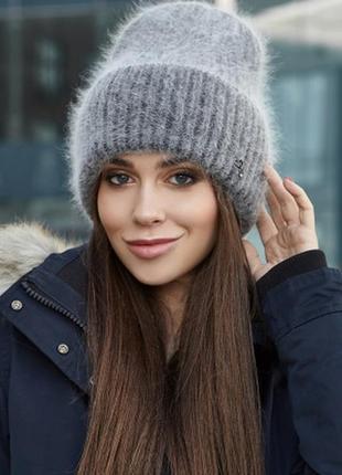 Теплая шапка эллен