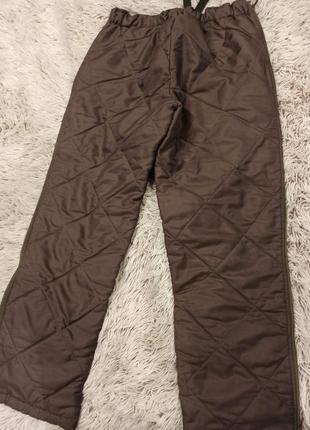 Зимние стёганые брюки2 фото