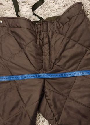 Зимние стёганые брюки3 фото