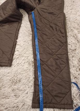 Зимние стёганые брюки6 фото