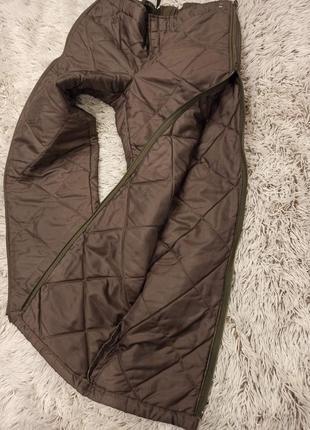 Зимние стёганые брюки7 фото