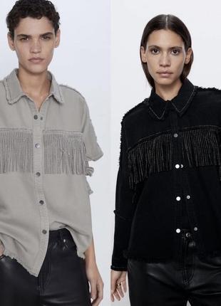 Рубашка/куртка zara