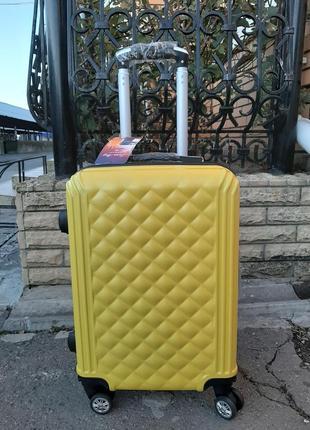 Дорожный чемодан ручная кладь со съёмными колёсами