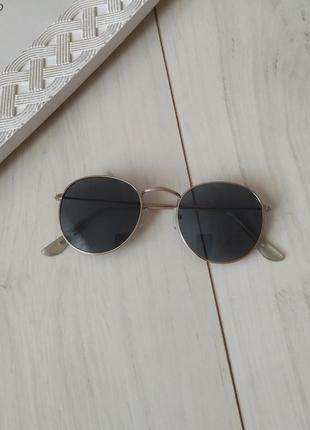 Очки солнцезащитные тишейды, полукруглые очки