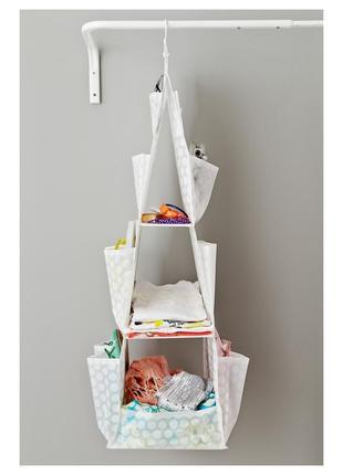 Ikea подвесной органайзер для одежды pluring икеа плуриг