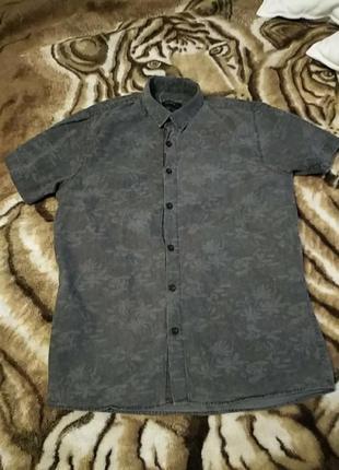 Рубашка фирмы pull&bear.оригинал.s-ка.