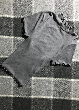Женская футболка primark ( примарк хс-срр идеал оригинал серая)