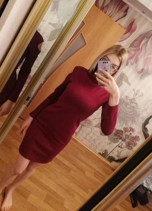 Новое тёплое платье