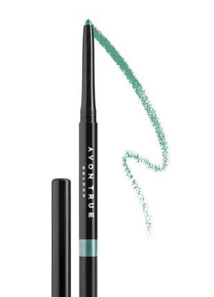 Карандаш для глаз avon true color-saturn grey,blasket black,emerald5 фото