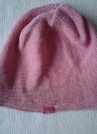 "Розовая шапочка (осень-весна) ""talvi"" на 2-4 года"