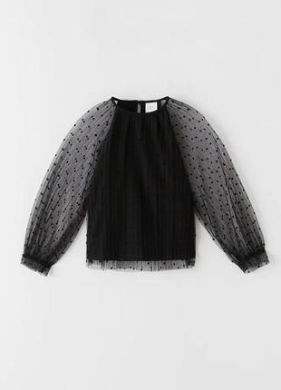 Блуза рубашка для девочки оригинал зара zara zara