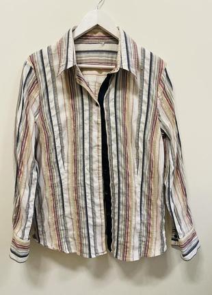 Рубашка р.44/46 #1751 sale❗️❗️❗️black friday❗️❗️❗️