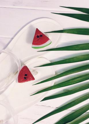 Босоножки арбузики