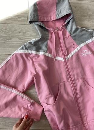 Розовая олимпийка, ветровка lonsdale