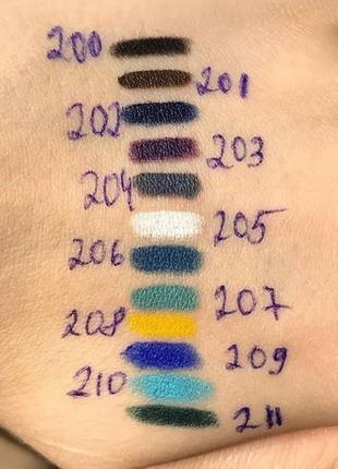 Карандаш для глаз cascade of colours, карандаш cascade, карандаш каскад2 фото
