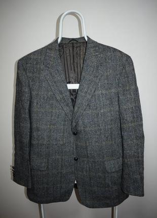 Barutti harris tweed блейзер пиджак шерсть