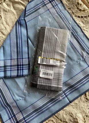 Германия ! набор мужские хлопковые платки винтаж