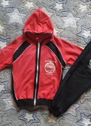 Распродажа!!!спортивный костюм для девочки 110-116 см. украина