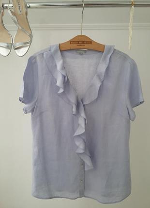 Милая блуза из льна -eur.44
