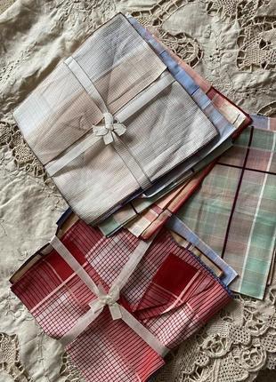 Италия швейцария наборы носовых платков батист винтаж