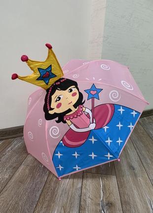 Детский зонт ☂️ с ушками