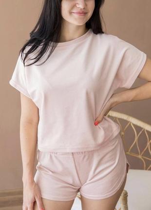 Пижама плюш-велюр , есть цвета ! свободный фасон с м л