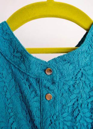 Великолепное голубое платье в кружево от kira plastinina