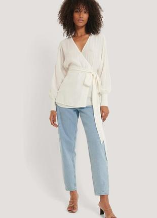 Новая кофточка блуза кимоно на запах na-kd