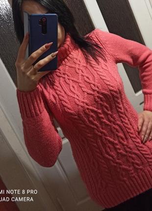 Свитер (розовый свитерок)
