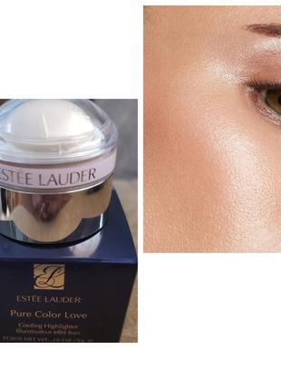 Хайлайтер estee lauder pure color love cooling highlighter 001 moon pearl оригинал