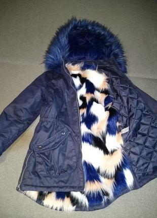 Шикарна курточка-парка фірми girlswear