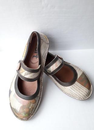 Art!! суперкачественные туфли .кожа.размер 39