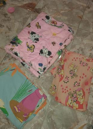 Детское одеяло 105×140 +2 комплекта белья